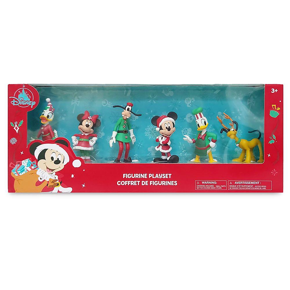 ミッキー&フレンズ フィギュアセット クリスマス