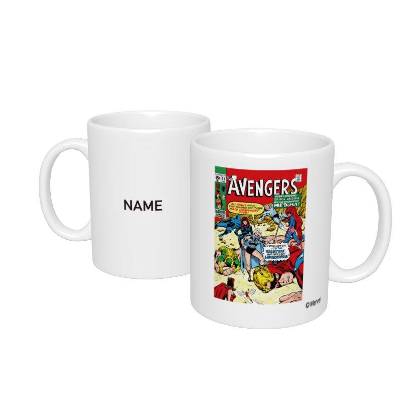 【D-Made】名入れマグカップ  MARVEL コミック アベンジャーズ