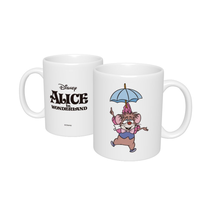 【D-Made】マグカップ  イヤーオブマウス 不思議の国のアリス ドーマウス
