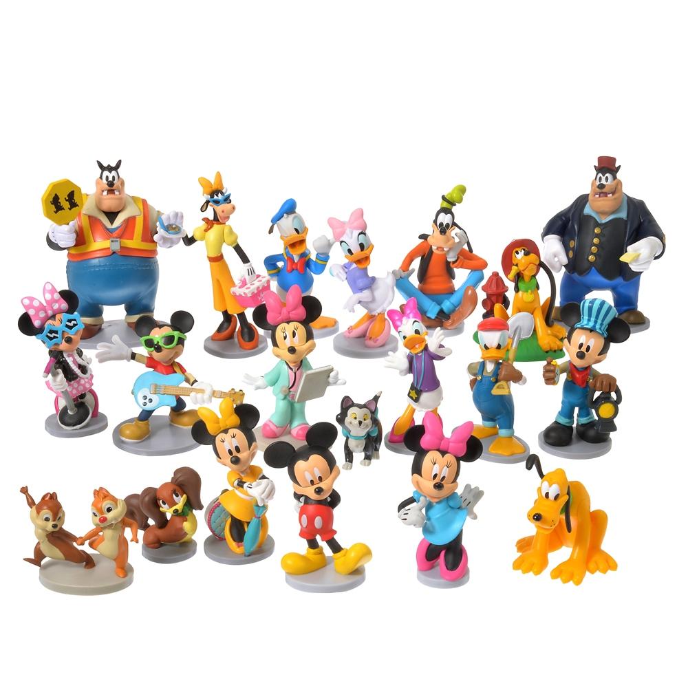 ミッキー&フレンズ フィギュアセット メガ ミッキーマウス クラブハウス