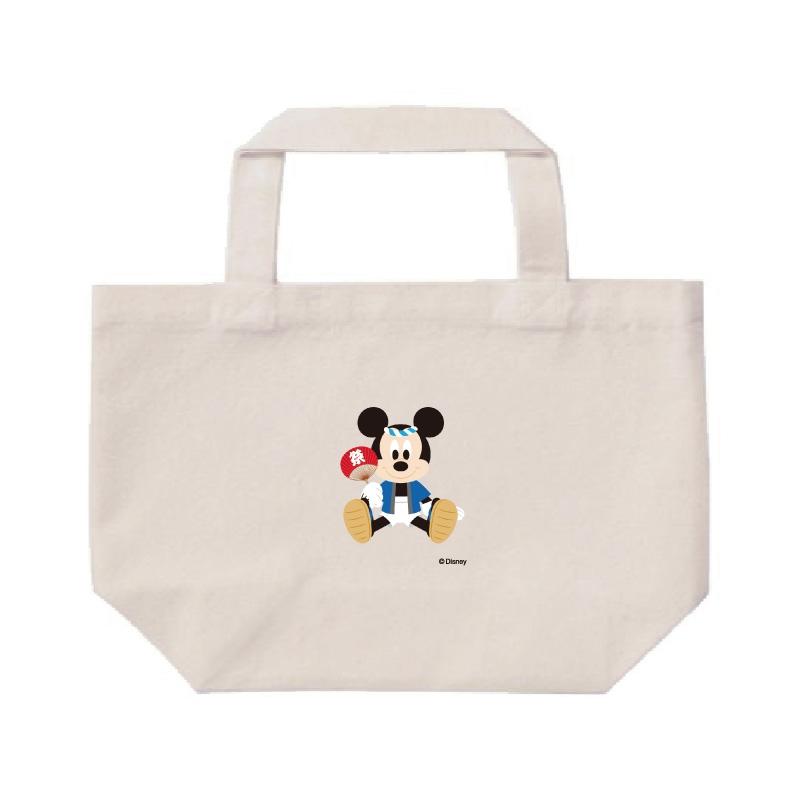 【D-Made】ミニトートバッグ  ミッキーマウス お祭り