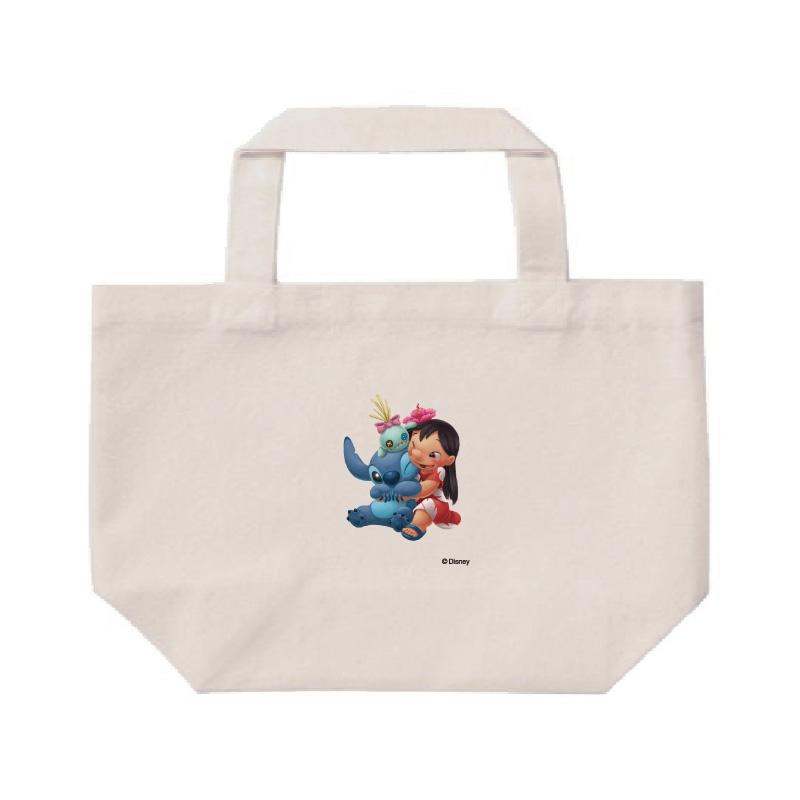 【D-Made】ミニトートバッグ  リロ&スティッチ&スクランプ