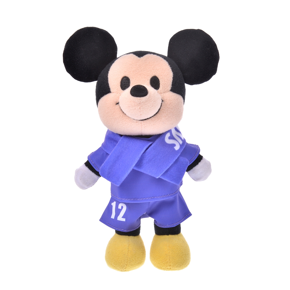 nuiMOs ぬいぐるみ専用コスチューム Jリーグユニフォームセット サンフレッチェ広島