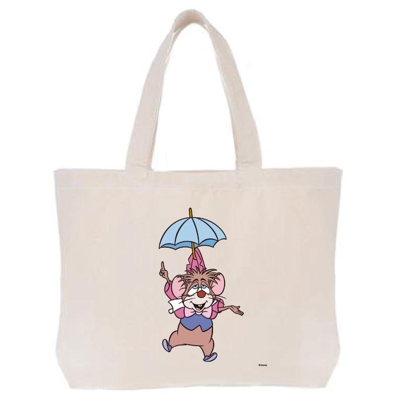 【D-Made】トートバッグ  イヤーオブマウス 不思議の国のアリス ドーマウス
