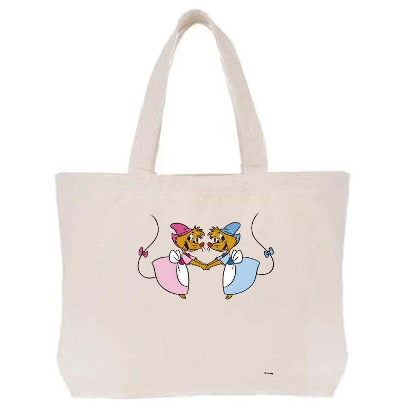 【D-Made】トートバッグ  イヤーオブマウス シンデレラ スージー&パーラ