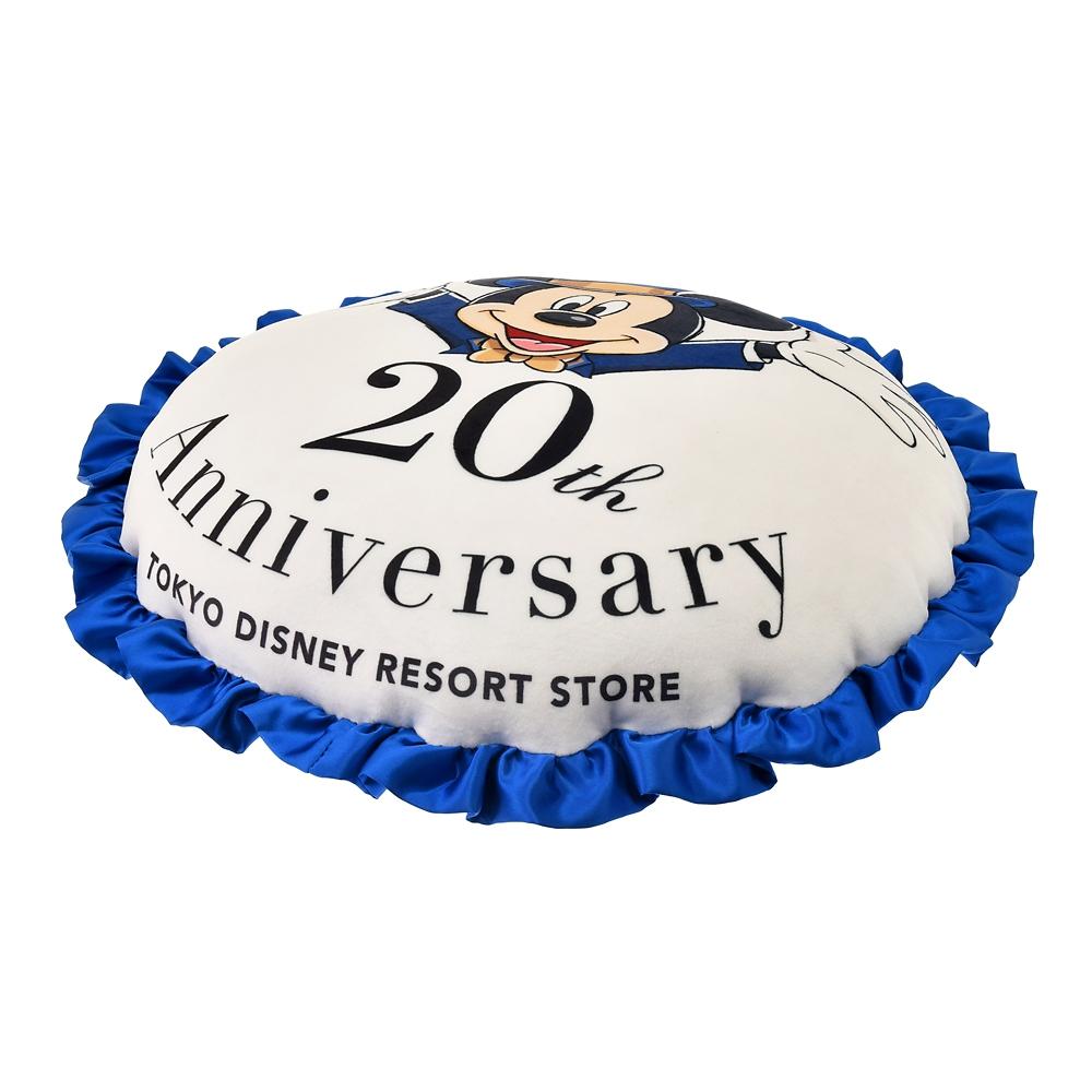 ミッキー&フレンズ クッション TOKYO DISNEY RESORT STORE 20th Anniversary