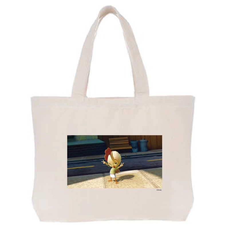 【D-Made】トートバッグ  映画 『チキン・リトル』 チキン・リトル
