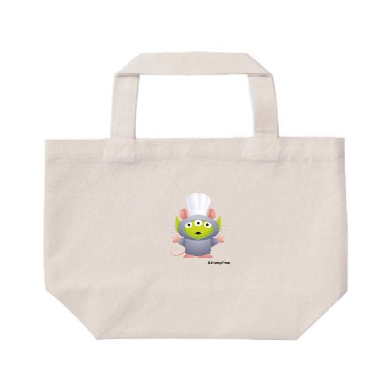 【D-Made】ミニトートバッグ  トイ・ストーリー リトル・グリーン・メン/エイリアン レミーのおいしいレストラン レミー