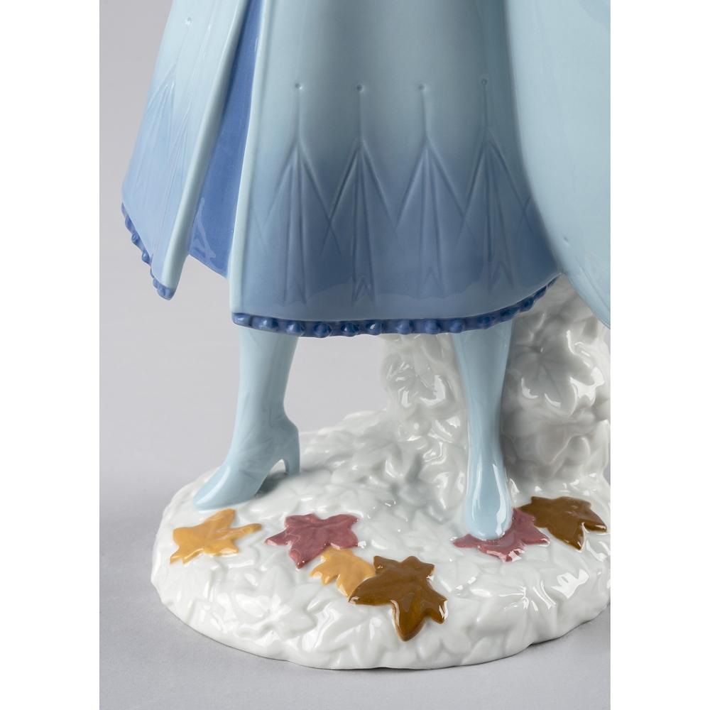 【リヤドロ】エルサ フィギュア アナと雪の女王2