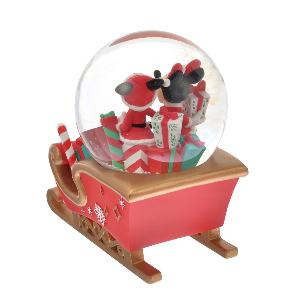 ミッキー&ミニー スノーグローブ Disney Christmas 2020