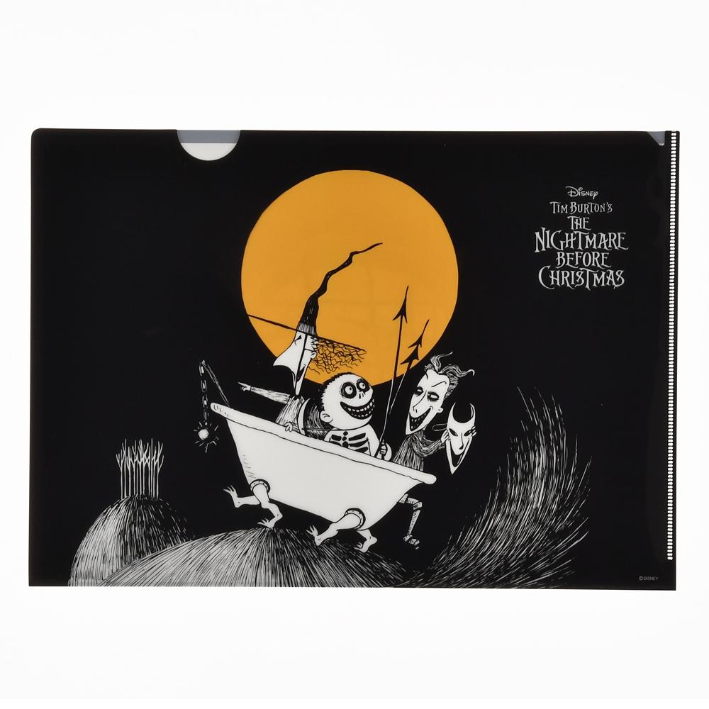 ティム・バートン ナイトメアー・ビフォア・クリスマス クリアファイル Tim Burton's The Nightmare Before Christmas