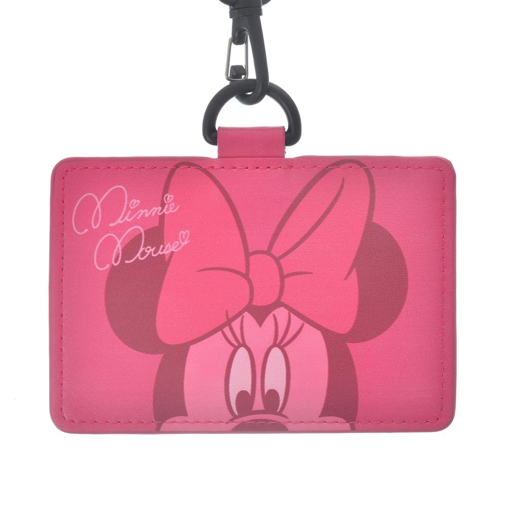 ミニー 定期入れ・パスケース Colors ピンク