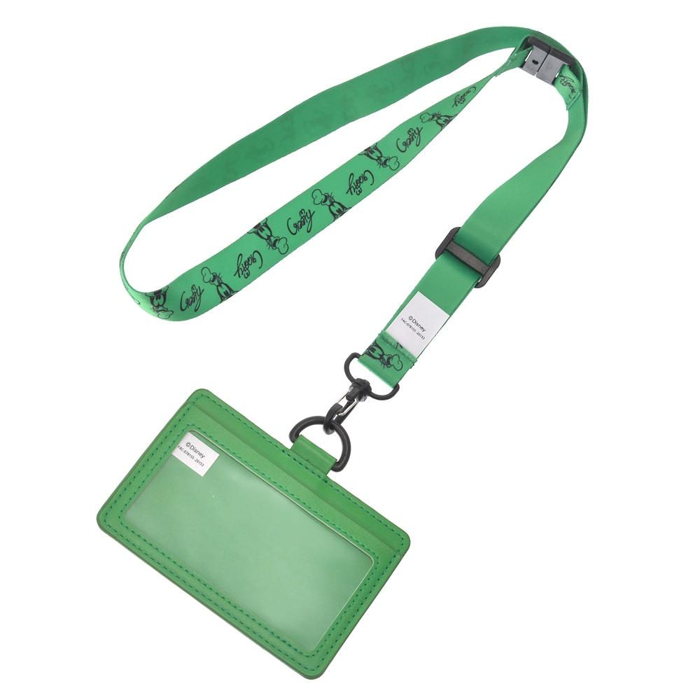 グーフィー 定期入れ・パスケース Colors グリーン