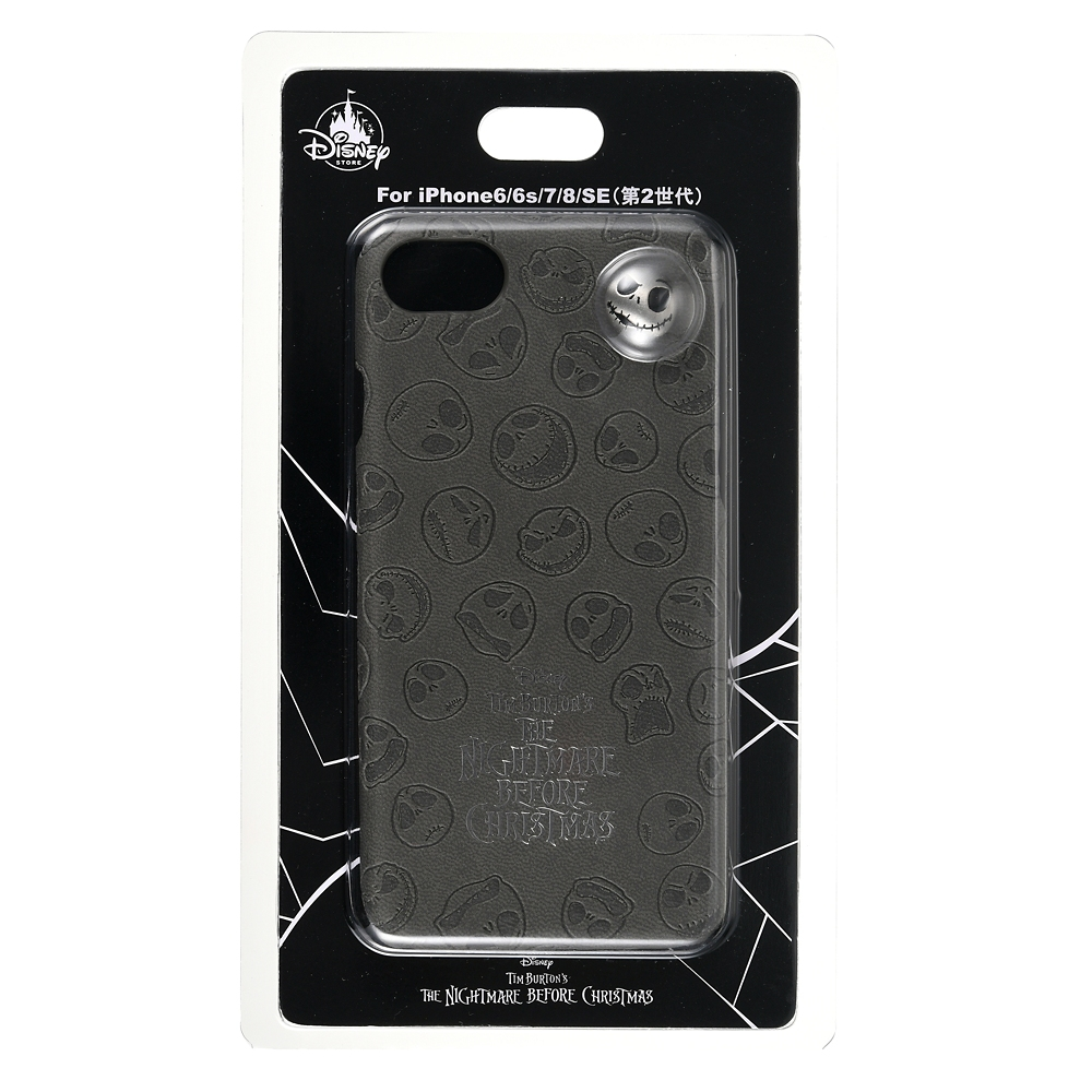ジャック・スケリントン iPhone 6/6s/7/8/SE(第2世代)用スマホケース・カバー Tim Burton's The Nightmare Before Christmas