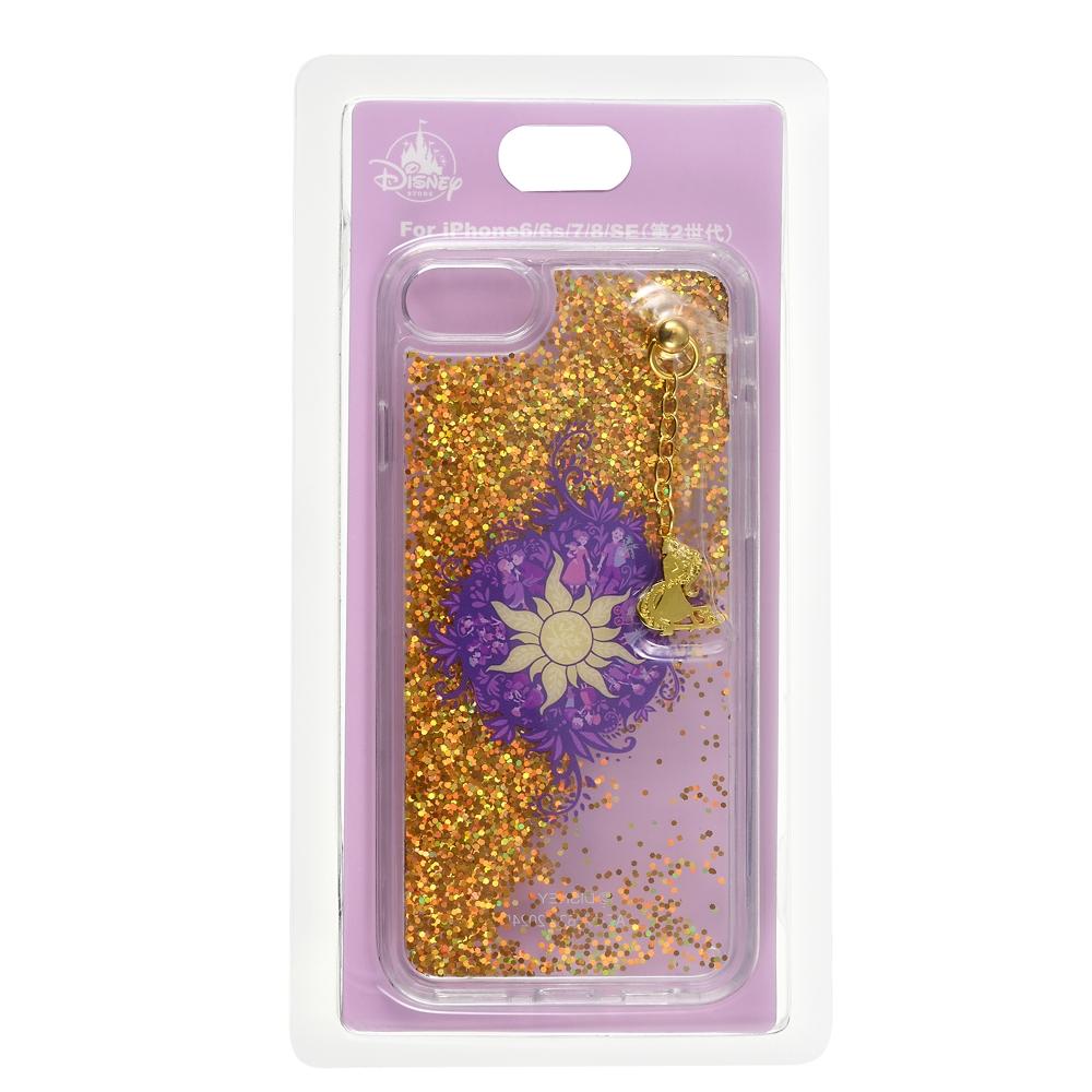 塔の上のラプンツェル iPhone 6/6s/7/8/SE(第2世代)用スマホケース・カバー Disney Tangled 10 Years