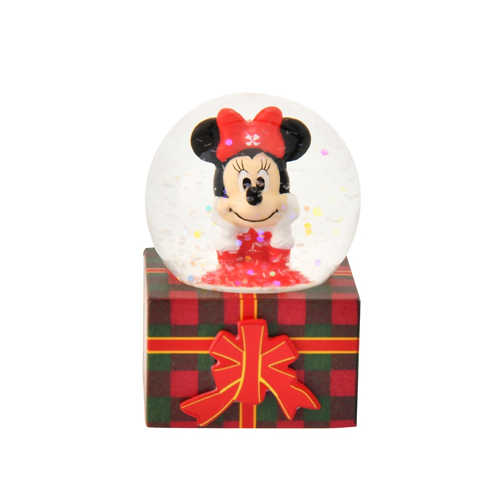 ミニー スノードーム Disney Christmas 2020