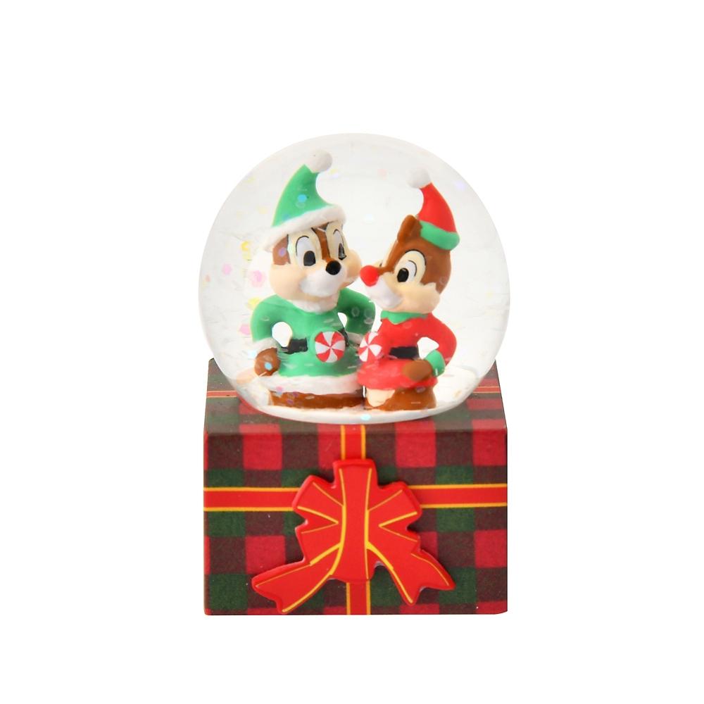 チップ&デール スノードーム Disney Christmas 2020