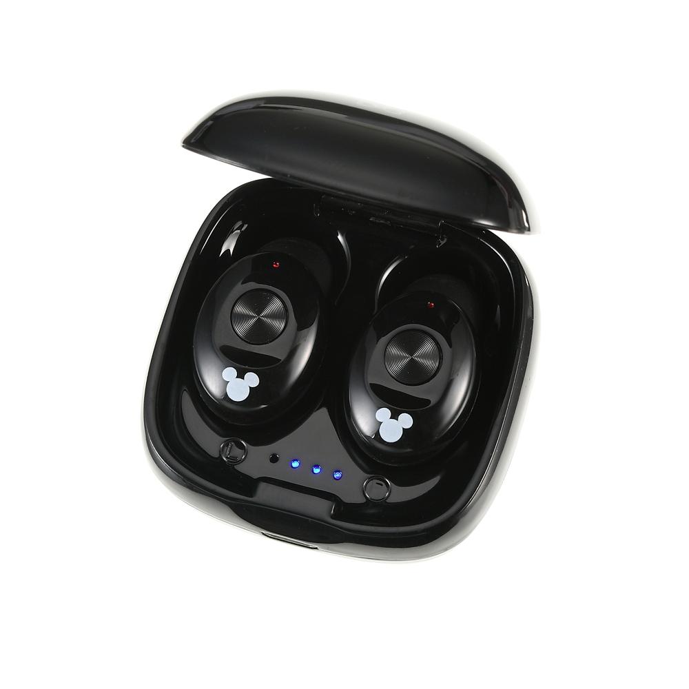 ミッキー ワイヤレスステレオイヤホン Bluetooth フェイス