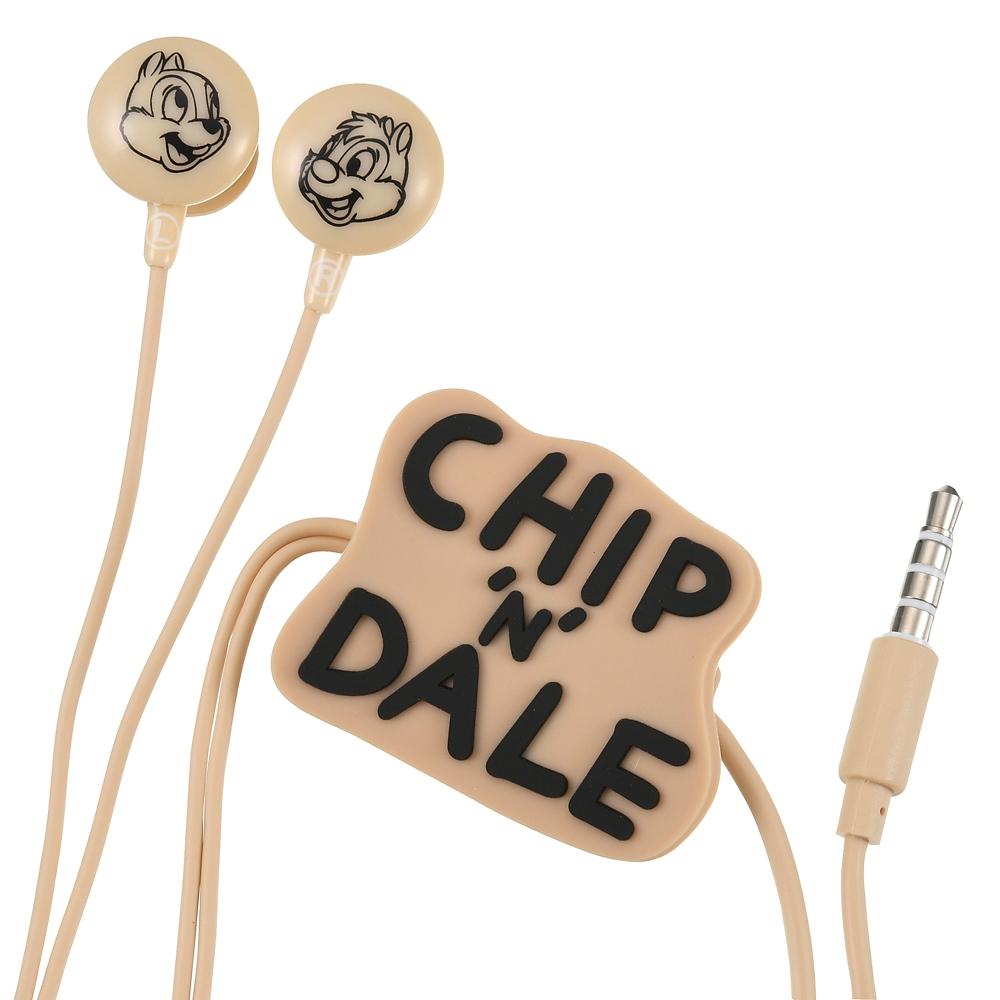 チップ&デール 電子機器用ステレオイヤホン マイク付き Gadget