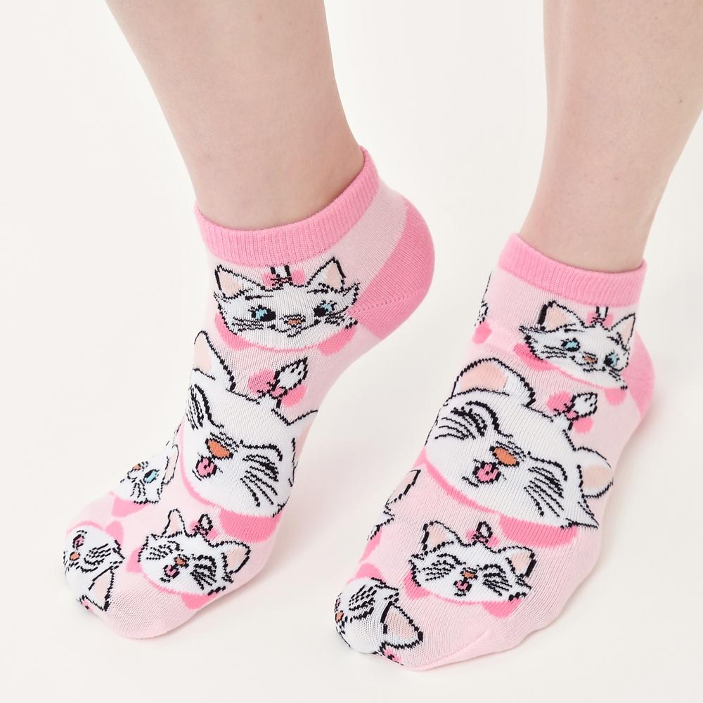 マリー おしゃれキャット 靴下 くるぶし ピンク