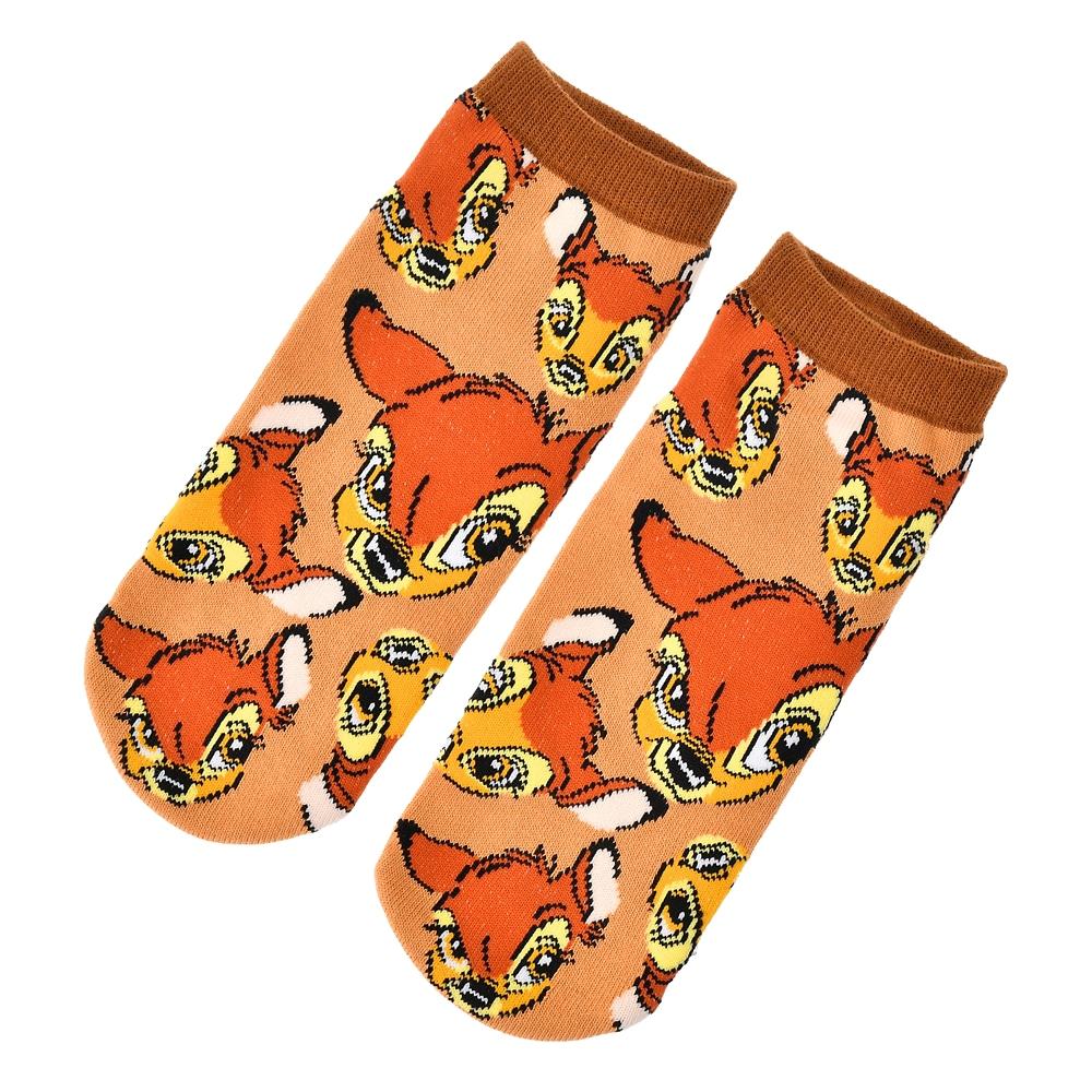 バンビ 靴下 くるぶし オレンジ