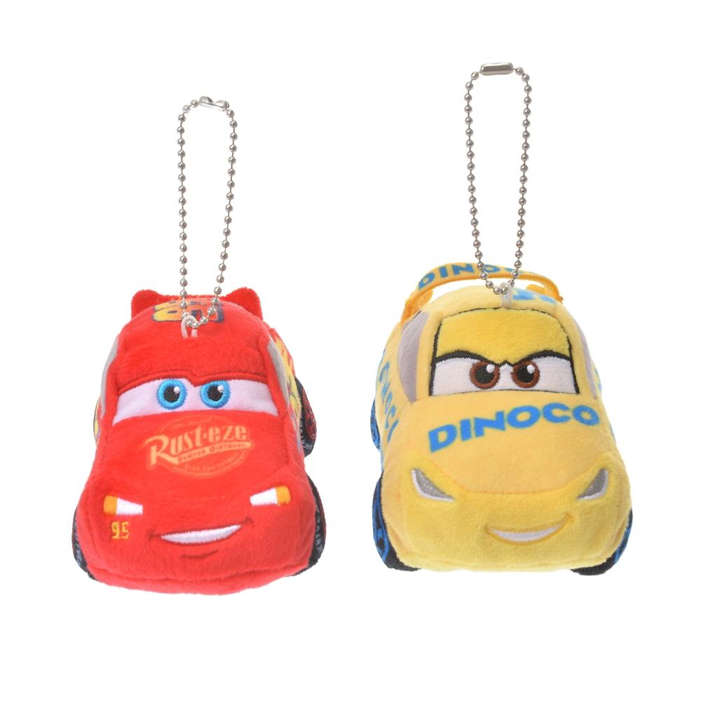 ライトニング・マックィーン&クルーズ・ラミレス ぬいぐるみキーホルダー・キーチェーン ペア Pixar Better Together