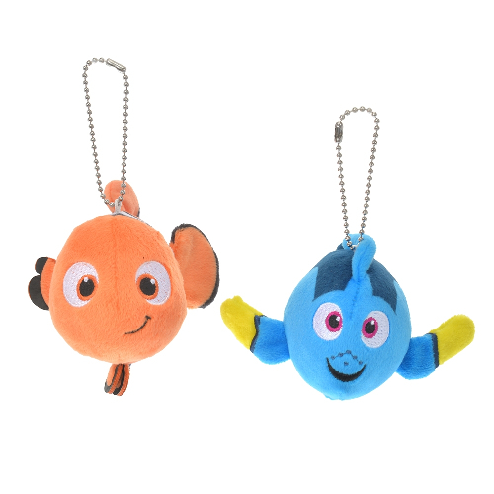 ニモ&ドリー ぬいぐるみキーホルダー・キーチェーン ペア Pixar Better Together