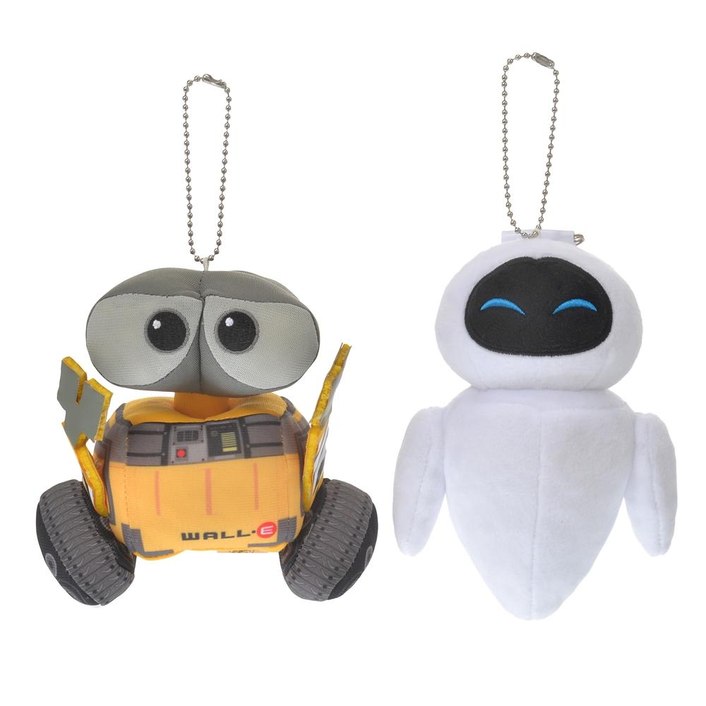 ウォーリー&イヴ ぬいぐるみキーホルダー・キーチェーン ペア Pixar Better Together