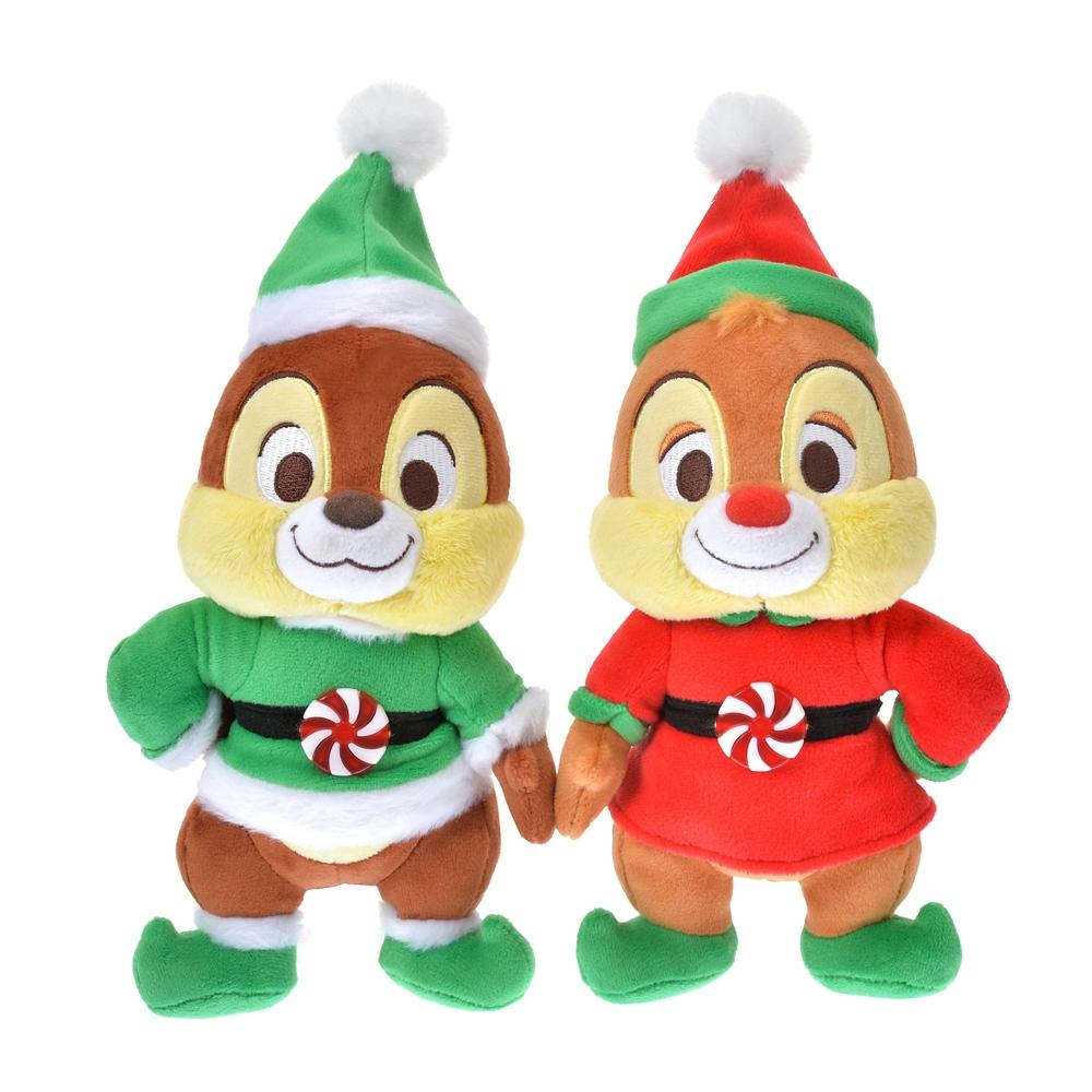 チップ&デール ぬいぐるみ Disney Christmas 2020