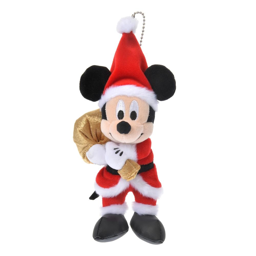 ミッキー ぬいぐるみキーホルダー・キーチェーン Disney Christmas 2020