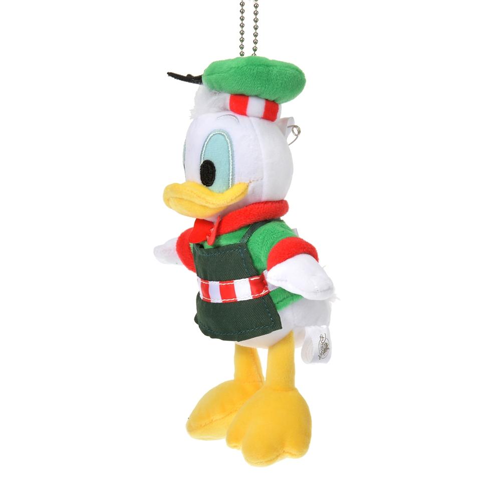 ドナルド ぬいぐるみキーホルダー・キーチェーン Disney Christmas 2020