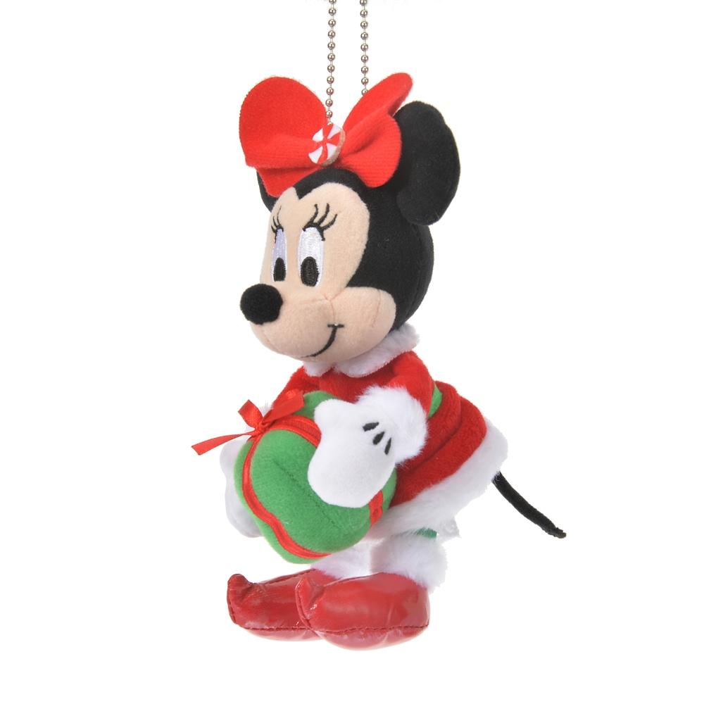 ミニー ぬいぐるみキーホルダー・キーチェーン Disney Christmas 2020