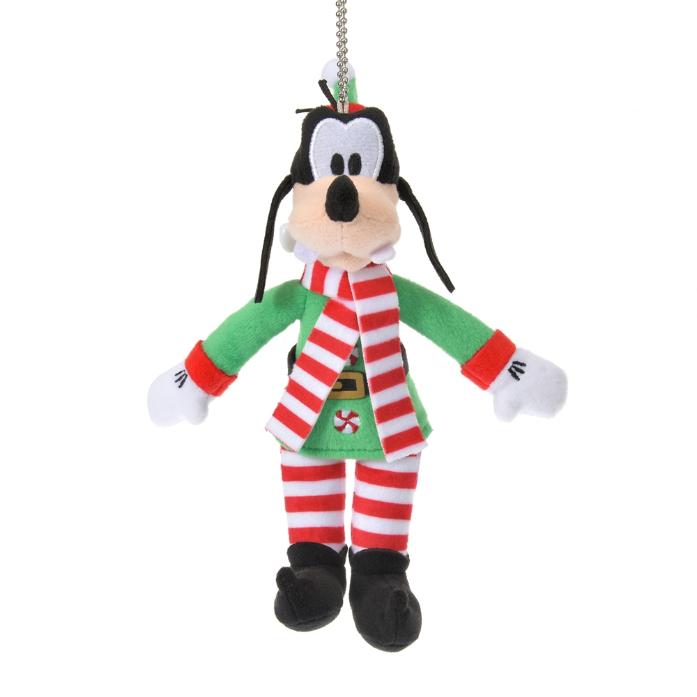 グーフィー ぬいぐるみキーホルダー・キーチェーン Disney Christmas 2020