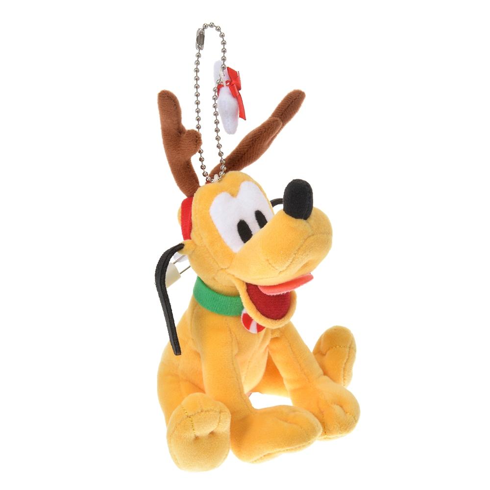 プルート ぬいぐるみキーホルダー・キーチェーン Disney Christmas 2020