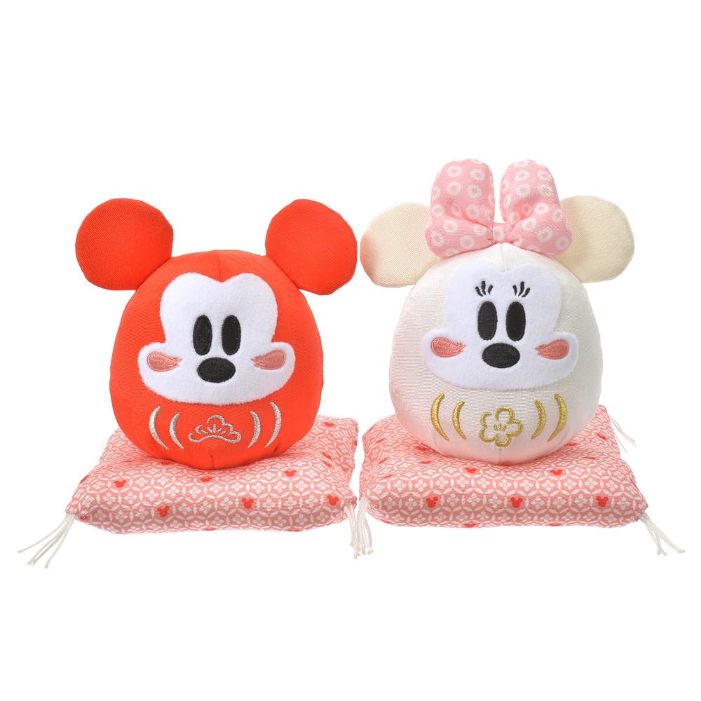 ミッキー&ミニー ぬいぐるみ だるま Eto Disney 2021