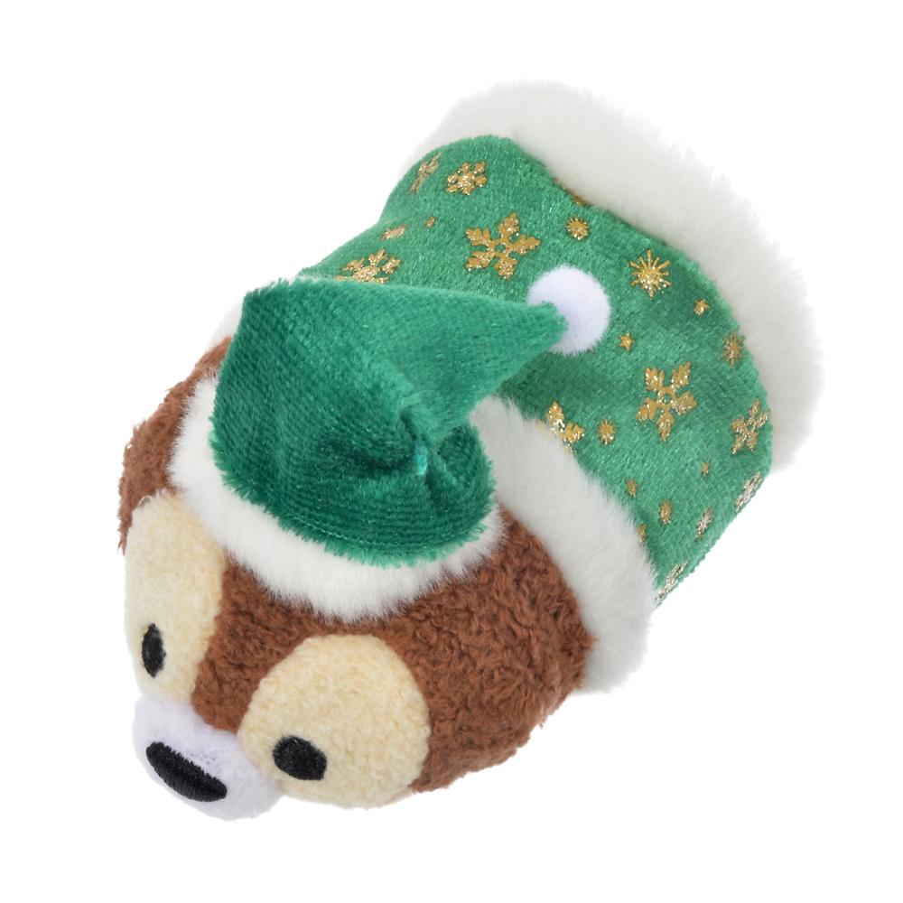 ツムツム ぬいぐるみ チップ ミニ(S) クリスマスカラー TSUM TSUM