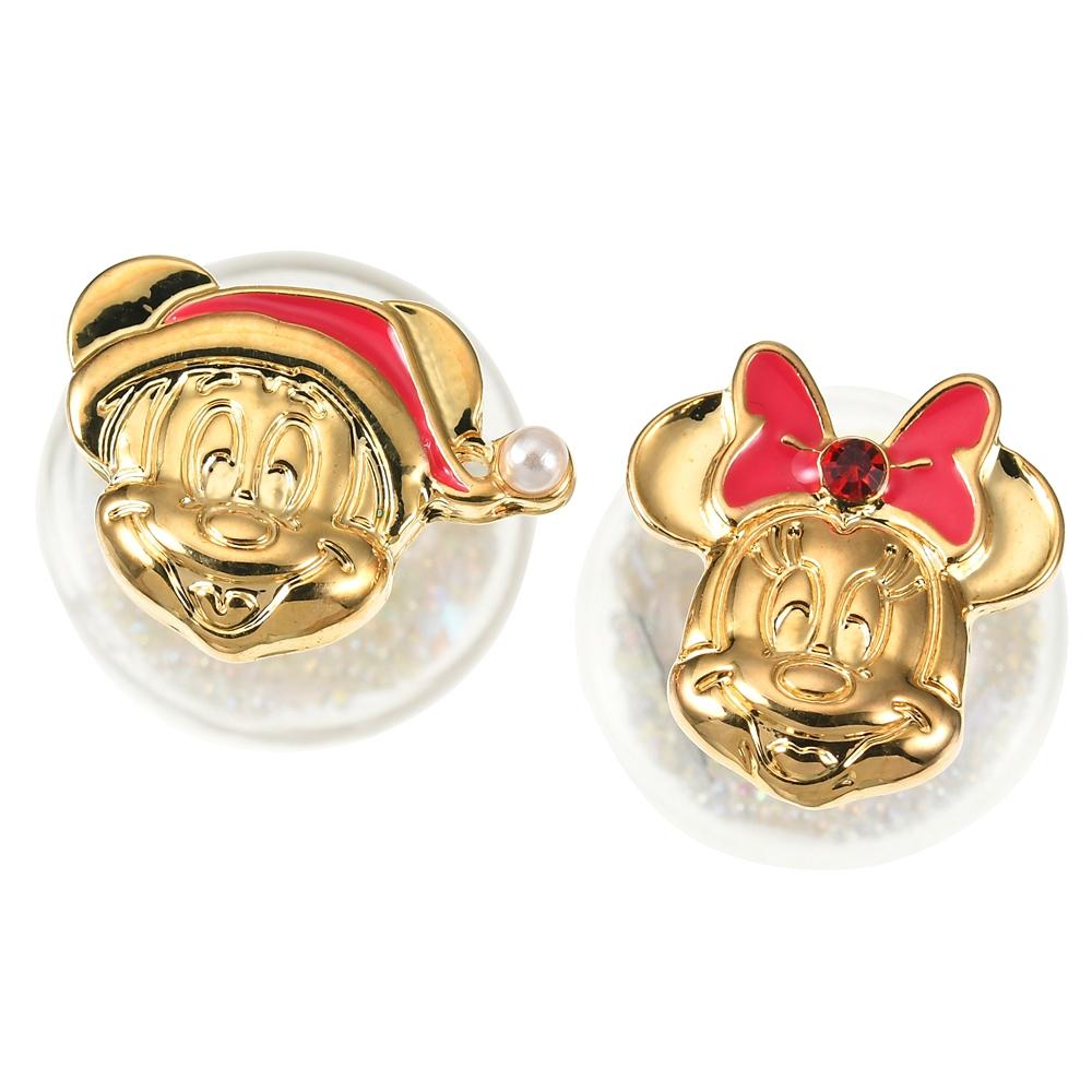 ミッキー&ミニー ピアス Disney Christmas 2020