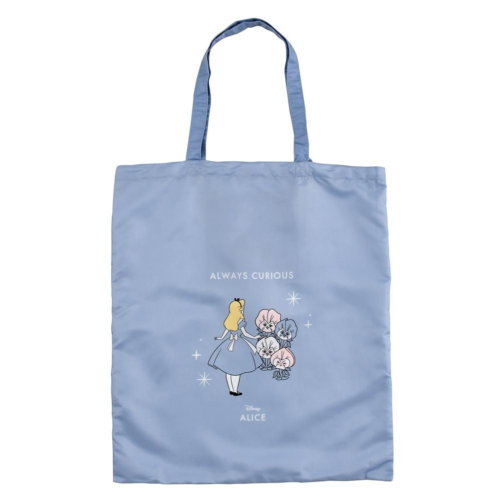 アリス、花たち ショッピングバッグ・エコバッグ