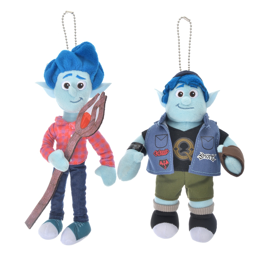 イアン・ライトフット&バーリー・ライトフット ぬいぐるみキーホルダー・キーチェーン ペア Pixar Better Together