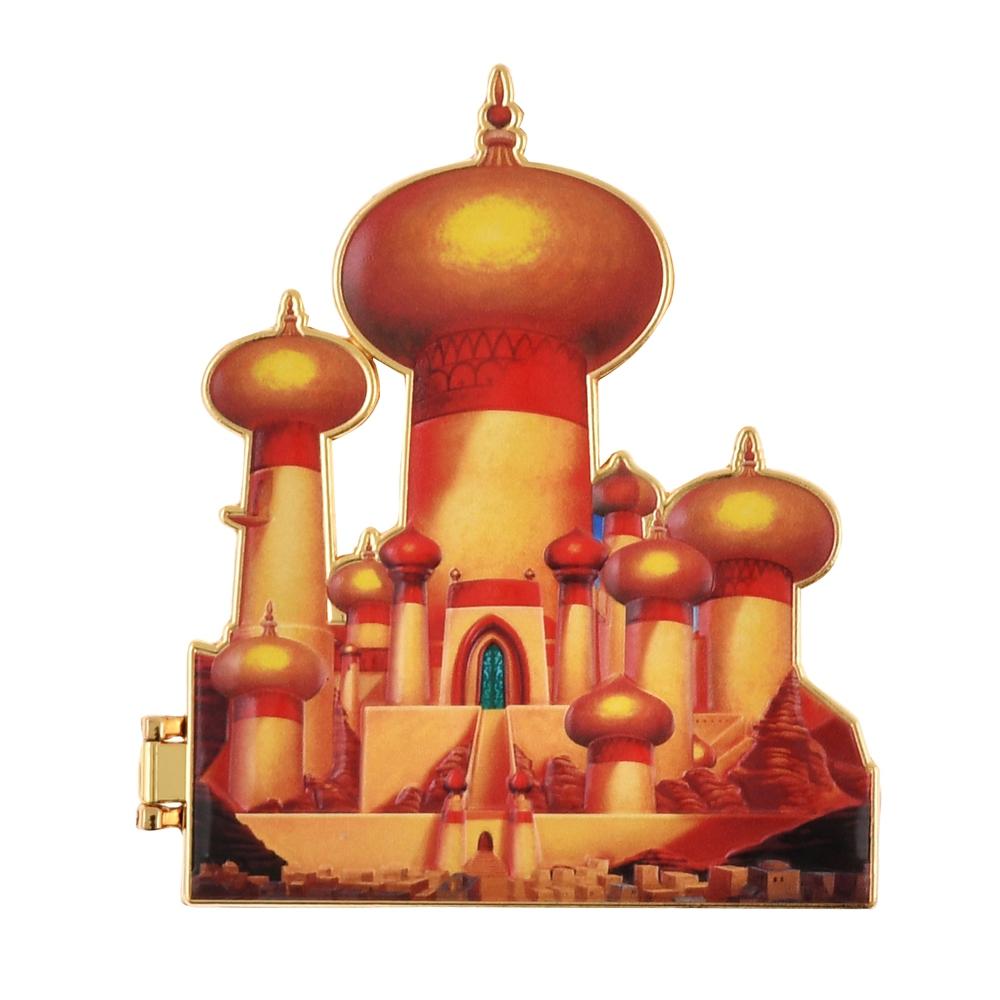 アラジン ピンバッジ 宮殿 Disney Castle Collection