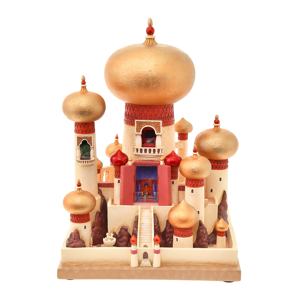 アラジン フィギュア 宮殿 Disney Castle Collection