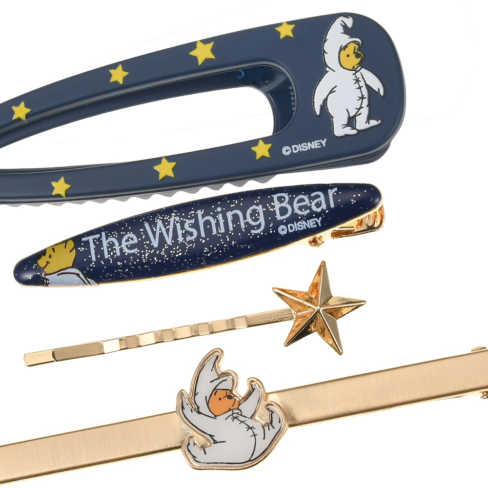 プーさん ヘアクリップ セット The Wishing Bear