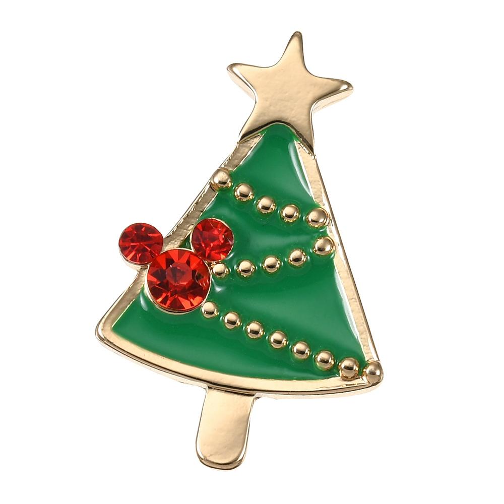 ミッキー ピアス(片耳用) ツリー クリスマス