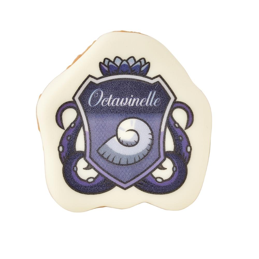 【キューポット】ツイステッドワンダーランド オクタヴィネル寮/ブローチ シュガークッキー