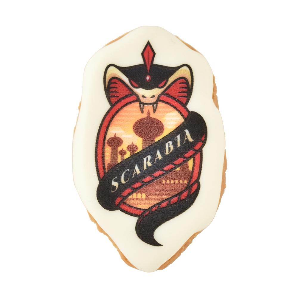 【キューポット】ツイステッドワンダーランド スカラビア寮/ブローチ シュガークッキー