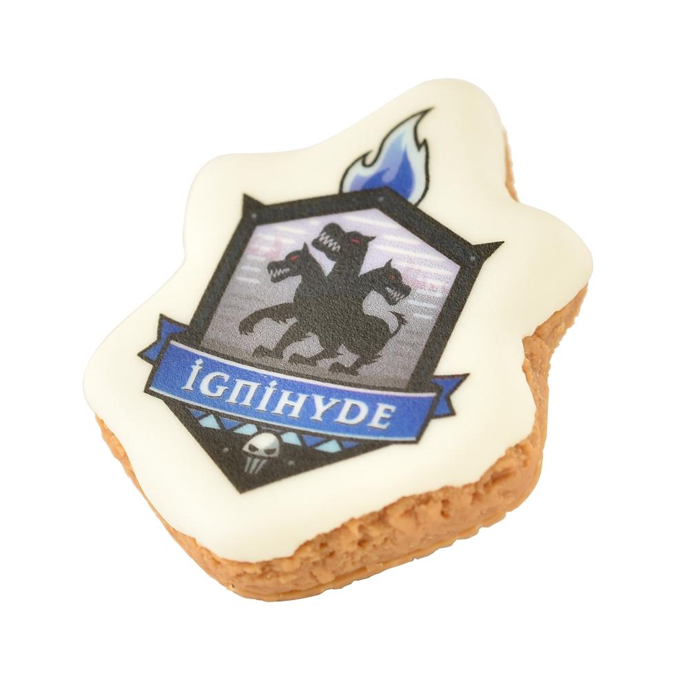 【キューポット】ツイステッドワンダーランド イグニハイド寮/ブローチ シュガークッキー