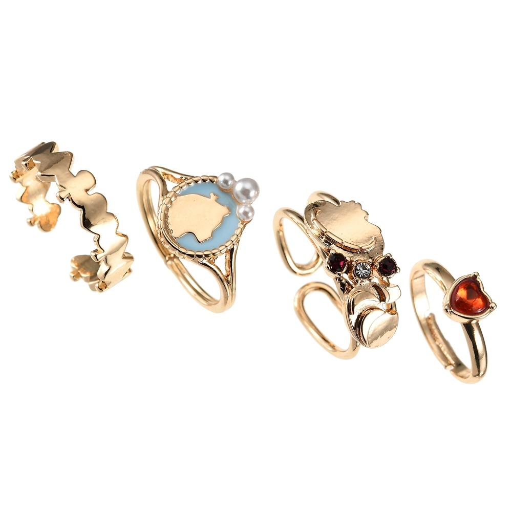 アリス&チェシャ猫 指輪・リング セット