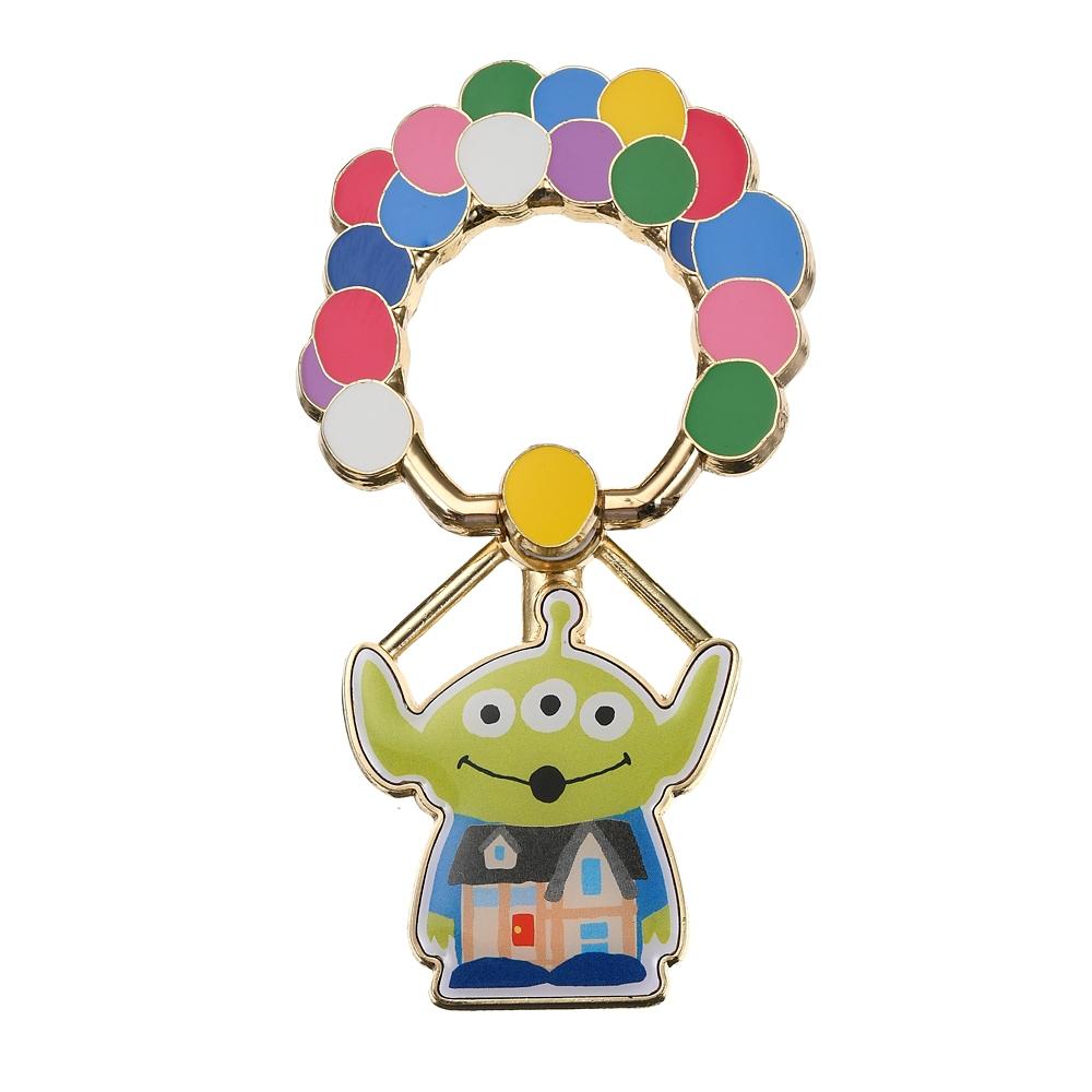 リトル・グリーン・メン/エイリアン スマートフォンリング 空飛ぶ家コスチュームエイリアン Toy Story 25th