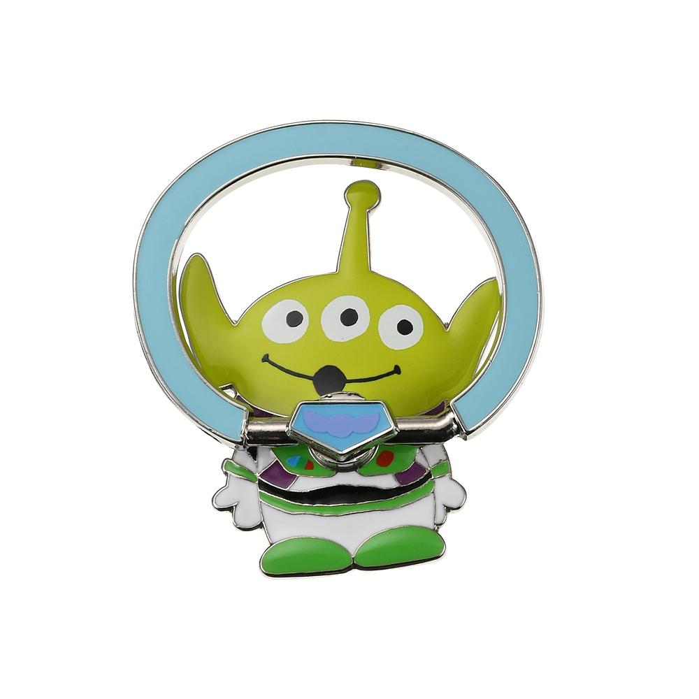 リトル・グリーン・メン/エイリアン スマートフォンリング バズ・ライトイヤーコスチュームエイリアン Toy Story 25th