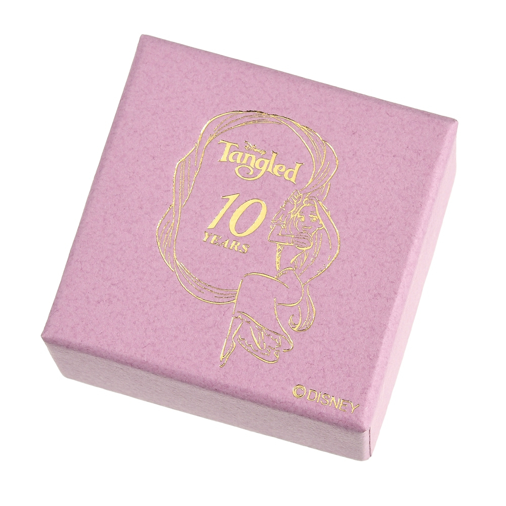 塔の上のラプンツェル ネックレス 魔法の花 Disney Tangled 10 Years